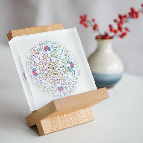 千草さんに北海道マンダラをプレゼント&アキエさんの偏愛マンダラ展を応援!プロジェクト