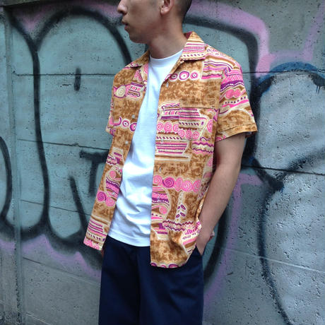 60's vintage Hawaiian- shirt
