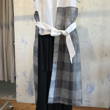 AMBELL   BRIGHT CHECK DRESS