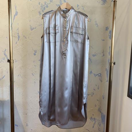 CINOH  19S0P034  SLEEVELESS DRESS /チノ スリーブレス ドレス