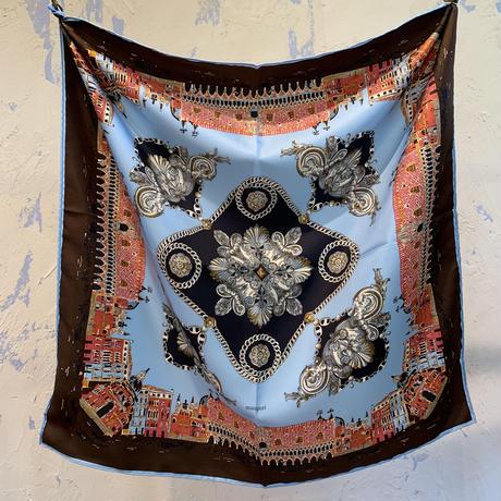 manipuri city silk scarf 65×65