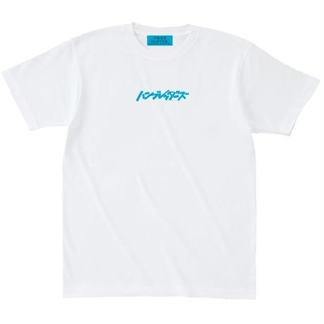 ロゴ刺繍Tシャツ【ホワイト】