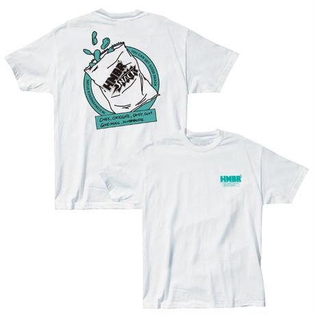ハンブレのお菓子Tシャツ【ポテチ/グリーン】