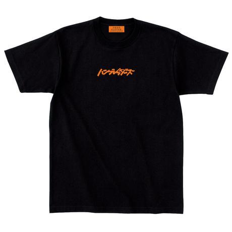 ロゴ刺繍Tシャツ【ブラック】