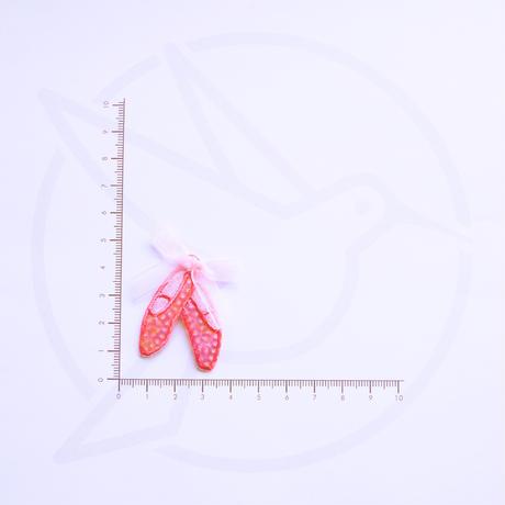 アイロンワッペン【バレエシューズ ballerina】オーストラリア