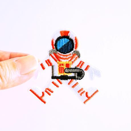 アイロンワッペン【宇宙飛行士】アメリカ