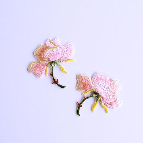 アイロンワッペン【バラ 薔薇 Rose】アメリカ