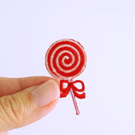 アイロンワッペン【キャンディー 2枚セット】アメリカ