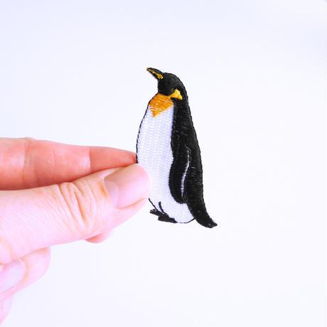 アイロンワッペン【キングペンギン Penguin】アメリカ