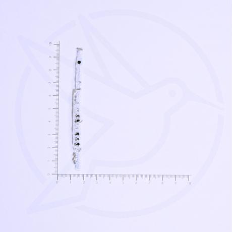アイロンワッペン【フルート 管楽器  flute】アメリカ