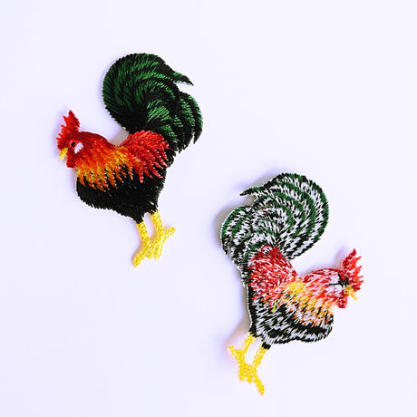 アイロンワッペン【ニワトリ 鶏 chicken】アメリカ
