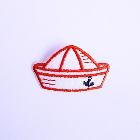 アイロンワッペン【マリンハット 水平帽子】ドイツ