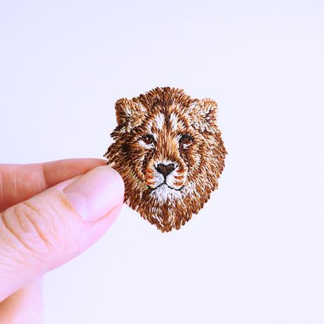 アイロンワッペン【ライオン Lion】アメリカ
