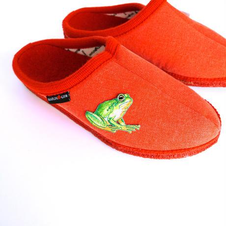 アイロンワッペン【アマガエル 蛙 frog】アメリカ