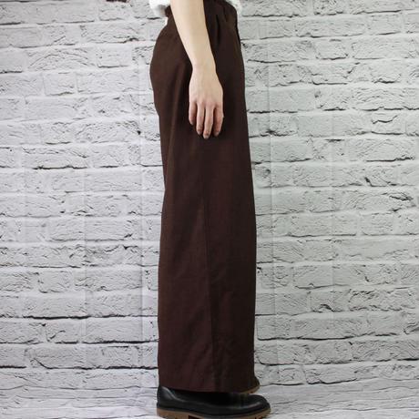 BROWN SLACKS PANTS
