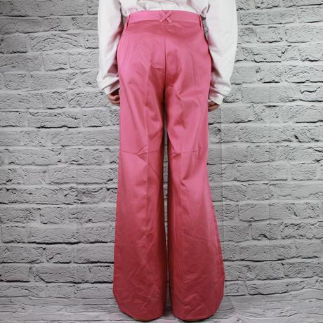 RETRO PINK FLERE PANTS