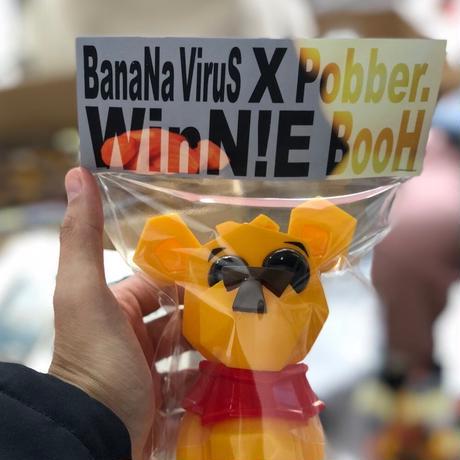 BanaNa Virus  x  Pobbertoy WINN!E BOOH フィギュア 完売品 数量限定