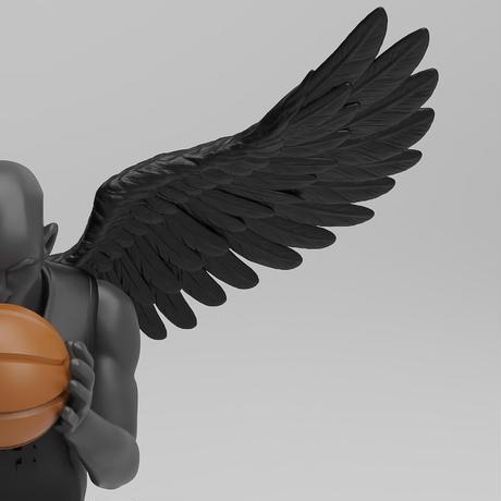 10/9(SAT) Restock  Dear Basketball - Black Edition // 1/9 Scale by A BATHING TOY アートトイ