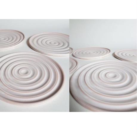 AKO STUDIO Ripple - Plate お皿 陶芸 陶器 ハンドメイド 一点物 MADE IN JAPAN