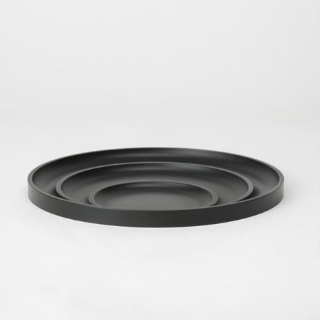 "OBJT by Lee Geonmin ""Traaay"" BLACK トレイ ディッシュ お皿 小物置き"