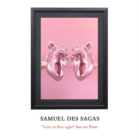 "11時間 限定予約発売 Number 1/2021 ""Love at first sight"" fine art Print by Samuel de Sagas 世界30枚限定"
