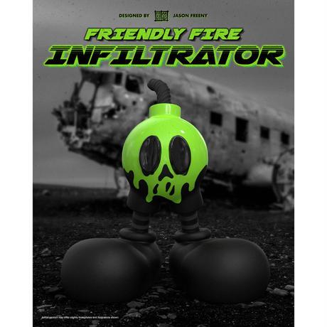 予約購入  [PREORDER] Friendly Fire Infiltrator by Jason Freeny フィギュア ミッキーマウス