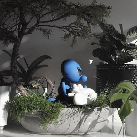 """予約受付中 """"LIGHT OFF BLUE""""- by RX STRIP x POBBERTOYS フィギュア アートトイ インテリア"""