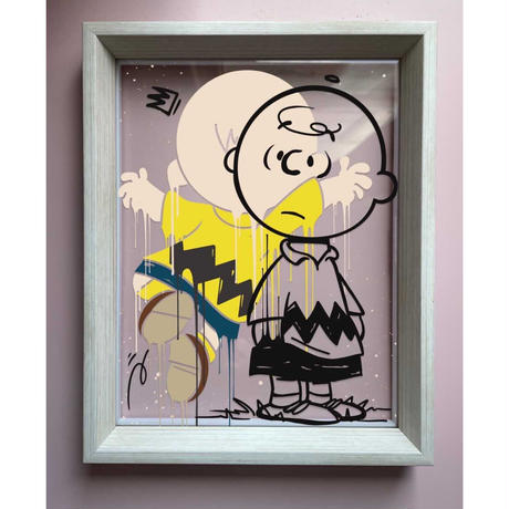 OPAKE ONE  DRIFTING PEANUT… One of a Kind Glass Art ガラス アート