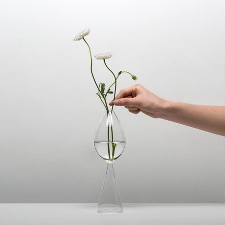 完売中 予約 購入受付け中 Bud Vase Clear 花瓶 一輪挿し ガラス