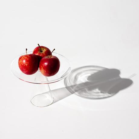完売中のため予約購入を受付中 ハンドクラフト Glass Plate ガラス プレート お皿 お香立て お香