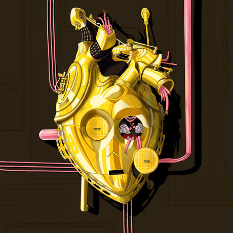 C3PO Number 1/2021  from POPHEARTS STARWARS Series by Samuel de Sagas