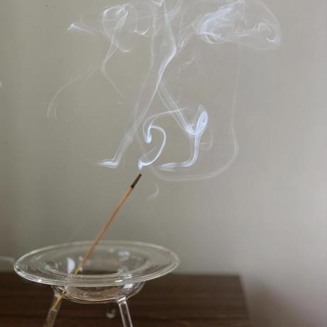 完売中 予約購入 受付け中 ハンドクラフト Glass Incense Burner L インセンス ホルダー お香立て