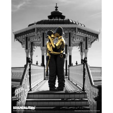 数量限定 KISSING COPPERS BY BRANDALISED (GOLD RUSH EDITION) フィギュア バンクシー キッシング コッパーズ