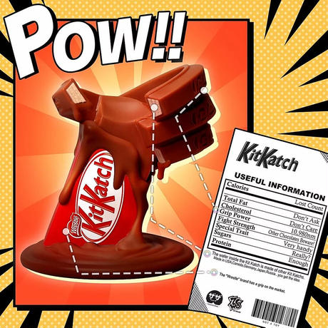 残り1個 Kit Katch vs & Chocolate War フィギュア トイ 数量限定 キットキャッチ