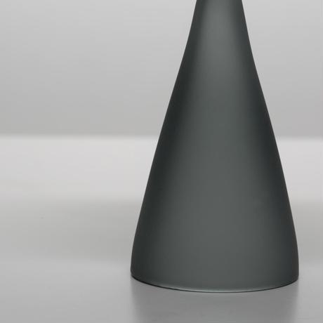 数量限定 ハンドクラフト Glass Incense Burner Frosted Grey インセンス ホルダー お香立て