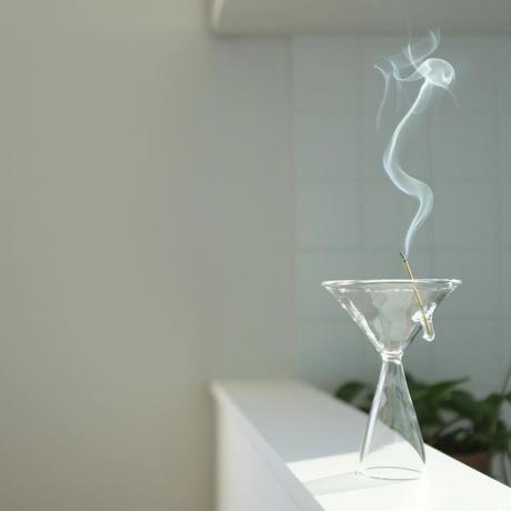 完売中 予約購入 受付け中 ハンドクラフト Glass Incense Burner M インセンス ホルダー お香立て