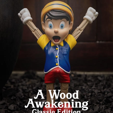 A WOOD AWAKENING BY JUCE GACE (CLASSIC EDITION)  フィギュア ピノキオ ディズニー