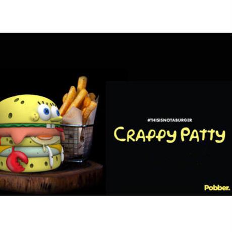 予約購入  [PREORDER] CRAPPY PATTY by Abiebi × PobberToys フィギュア アートトイ
