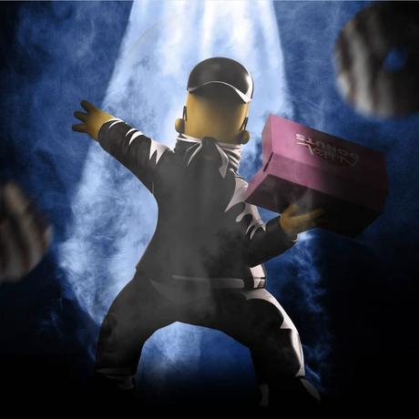 数量限定 Donut Bomber by Ndikol フィギュア シンプソンズ バンクシー フラワーボンバー FLOWER BOMBER