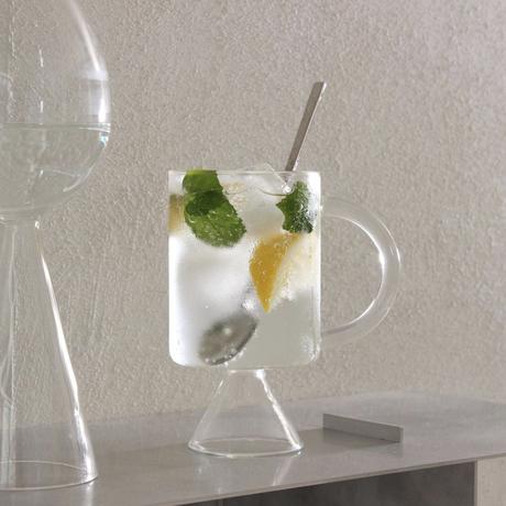 再入荷 ハンドクラフト Glass Mug ガラス マグカップ