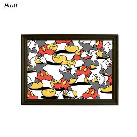 Second Series JARRIX  ART POSTER ジャリックス Mic××× グラフィック アート ポスター A3サイズ