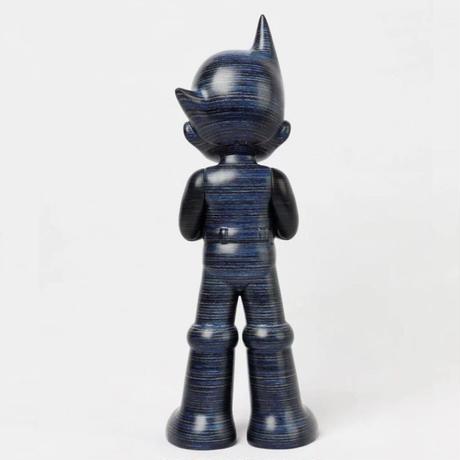 残り1pcs ASTRO BOY GREETING - BLUE WOODEN (HORIZONTAL VER) インテリア フィギュア アートトイ