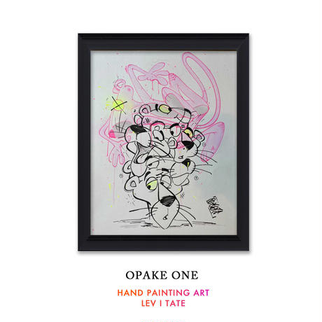 OPAKE ONE  -LEV I TATE-  One of a Kind SKETCHES ART アート グラフィティ