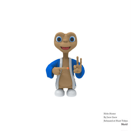 JUCE GACE HOLE-HOME フィギュア E.T