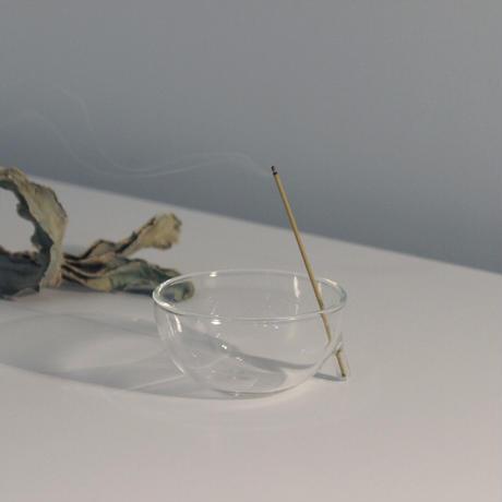 完売中のため予約購入受付中 ハンドクラフト Glass Incense Burner S インセンス ホルダー お香立て