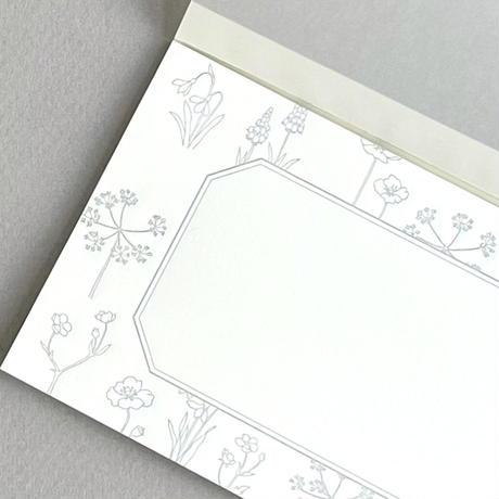 活版印刷の一筆箋
