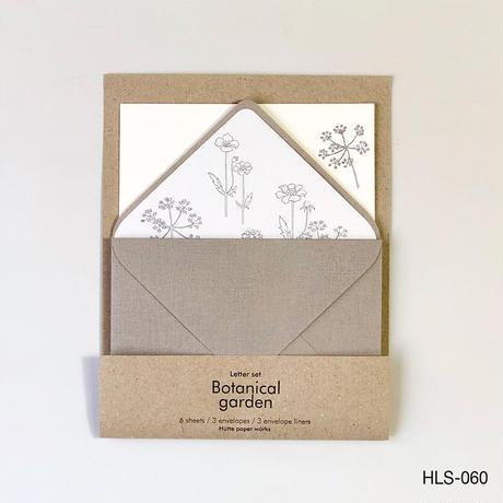 活版印刷のレターセット HLS-060  春の花