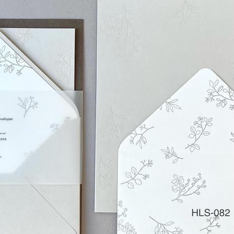 活版印刷のレターセット
