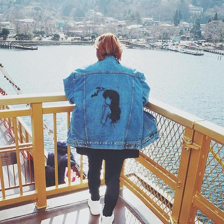 Order Made Denim Jacket.
