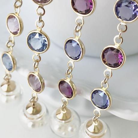 gem …(lady)ロングピアス/イヤリング